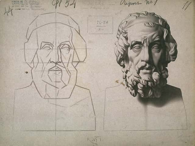 classical-pencil drawing-lesson